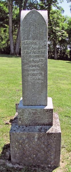 Harriett E. <i>Louthan</i> Parker
