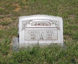 Carroll Addison Null