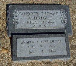 Andrew Thomas Albright, Sr