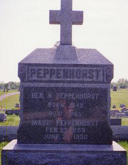Margaretha Mary <i>Kunkel</i> Peppenhorst