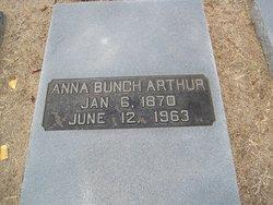 Anna <i>Bunch</i> Arthur