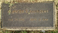 Blanche T Saunders