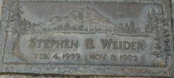 Stephen Brett Weider