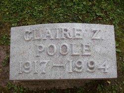 Claire Z Poole