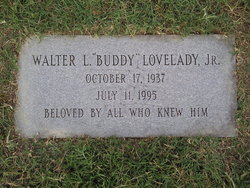 Walter Lamar Buddy Lovelady, Jr