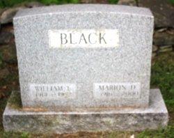 Marion D. <i>Decker</i> Black