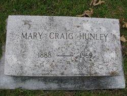 Mary Violet <i>Craig</i> Hunley