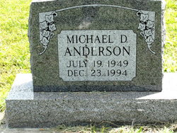 Michael D.. Mike Anderson
