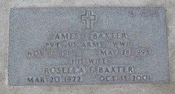 Rosella Florence <i>Warner</i> Baxter