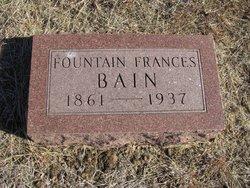 Fountain Frances Bain