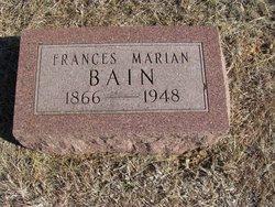 Frances Marian Bain