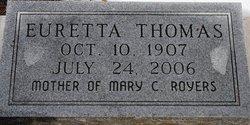 Euretta Mae <i>Strickland</i> Thomas
