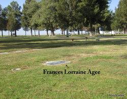 Frances Lorraine Agee