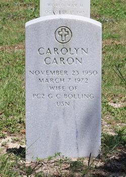 Carolyn <i>Caron</i> Bolling