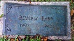 Beverly Robertson Barr