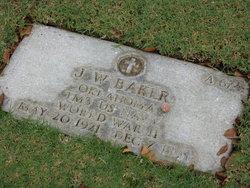 TM3 J W Baker