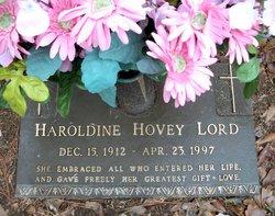 Nanalice Haroldine <i>Hovey</i> Lord