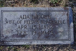 Ada B. <i>Cobb</i> Blackwell
