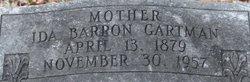Ida <i>Barron</i> Gartman