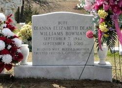 Dianna Elizabeth Buff <i>Dean</i> Williams-Bowman