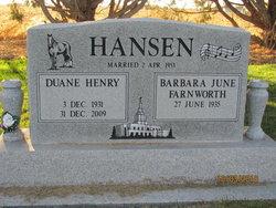Duane Henry Hansen