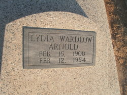 Lydia May <i>Wardlaw</i> Arnold