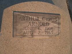 Arthur Cyrus Arnold, Jr