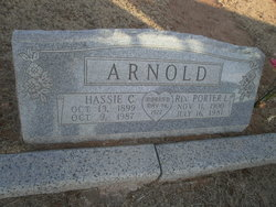 Hassie <i>Clay</i> Arnold
