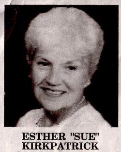 Esther C Sue Kirkpatrick