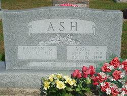 Argyl E. Ash