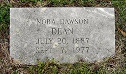Willie Nora <i>Dawson</i> Dean