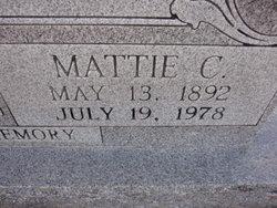 Mattie C. Cremeen