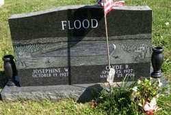 Josephine W. <i>Snook</i> Flood