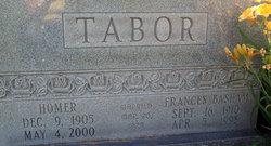 Frances <i>Basham</i> Tabor