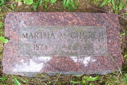 Martha May <i>Satterthwaite</i> Church