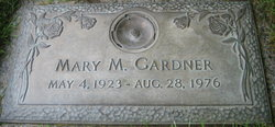 Mary Margie <i>McNeil</i> Gardner