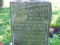 Eliza A <i>Geller</i> Cromer