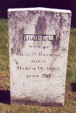 Rhoda M <i>Stebbins</i> Banning