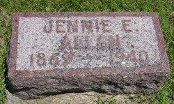 Jennie <i>Byrd</i> Allen