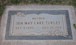 Ida May <i>Lake</i> Turley