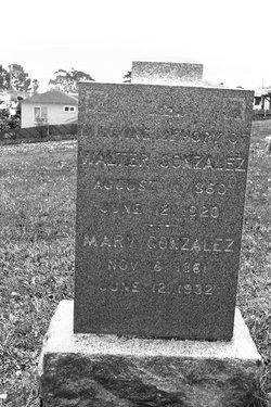 Mary G Mamie <i>Fox</i> Gonzalez