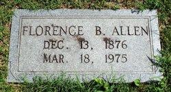Florence B Allen