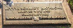 Bettye <i>Schmidt</i> Rathbone