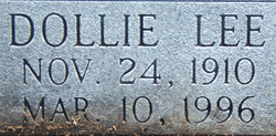 Dollie Lee <i>Neal</i> Jackson
