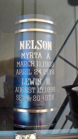 Lewis Harry Pop Nelson