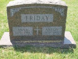Anna <i>Witt</i> Friday