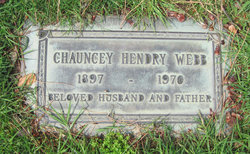 Chauncey Hendry Webb