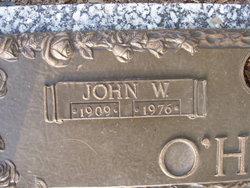 John W O'Hara