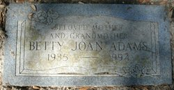 Betty Joan Adams