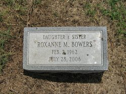 Roxanne M Bowers